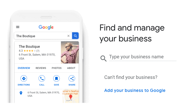google my business listing for home inspectors